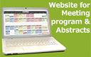 Website for Meeting program & Abstract